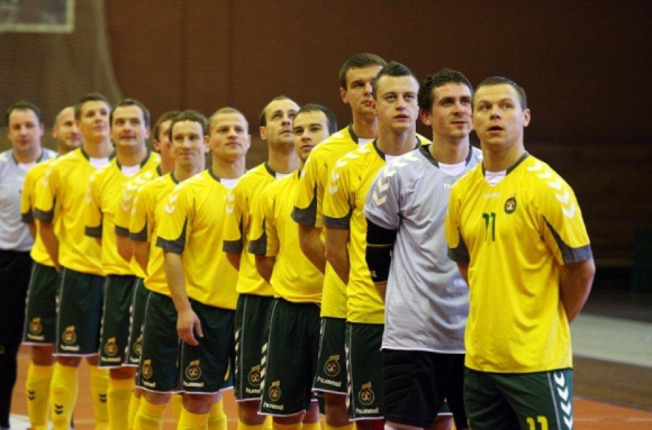 2011 m. Lietuvos salės futbolo rinktinė