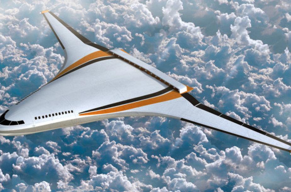 Bendras NASA ir Boeing ateities orlaivio konceptas