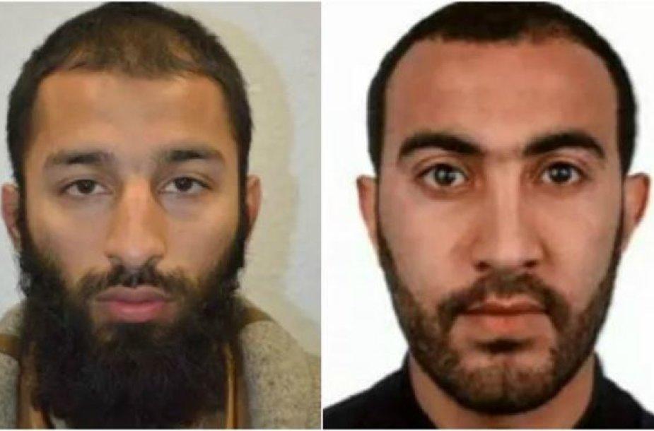 Teroro išpuolio Londone organizatoriai