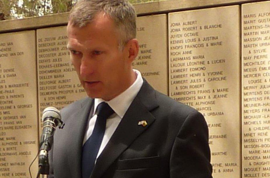 Lietuvos ambasadorius Izraelyje Darius Degutis