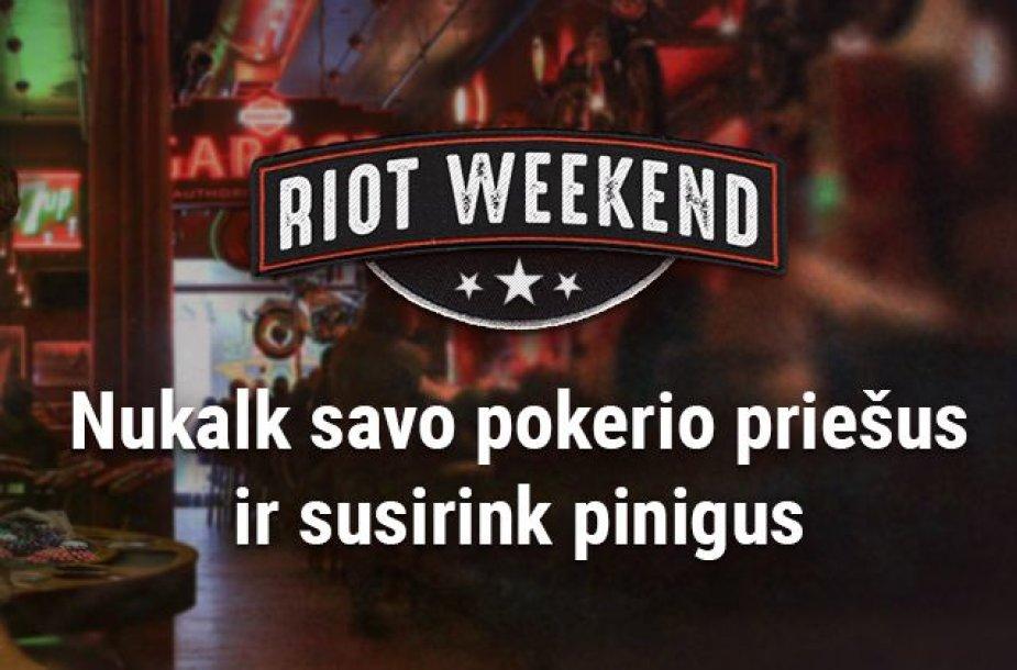 Riot Weekend / TonyBet.lt nuotr.