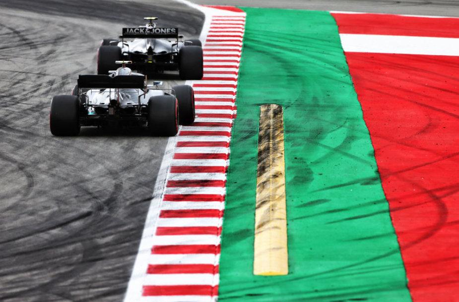"""""""Formulės 1"""" treniruotės ir kvalifikacija Barselonoje"""