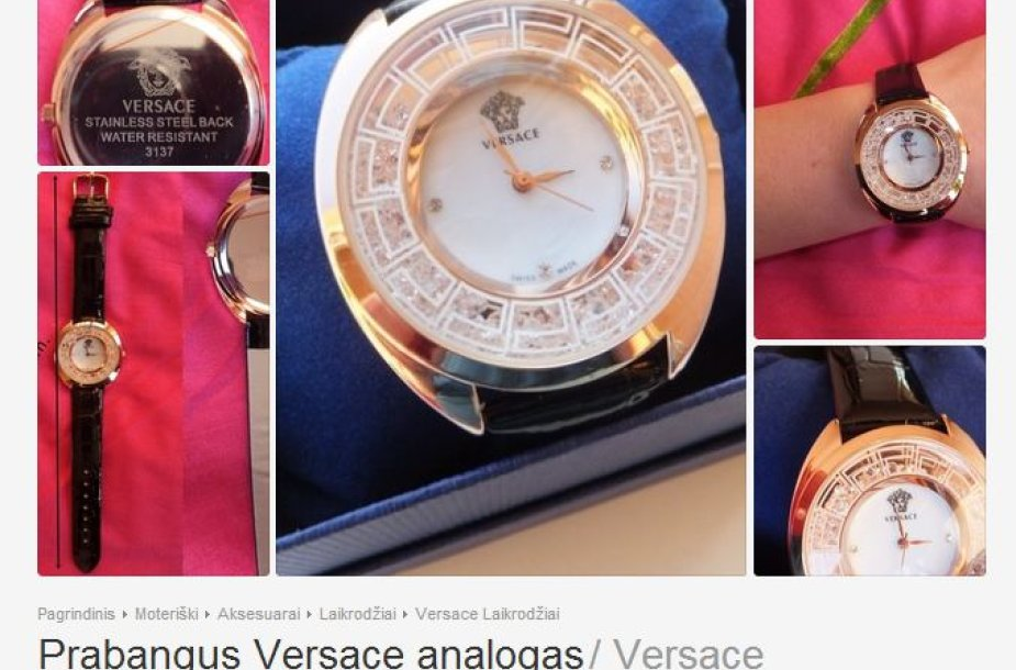 Versace analogas