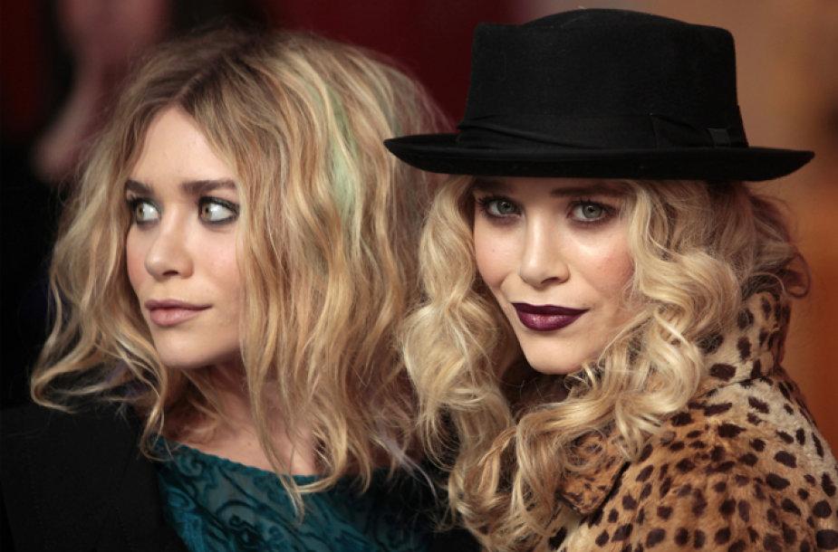 Seserys Ashley Olsen (kairėje) ir Mary-Kate Olsen
