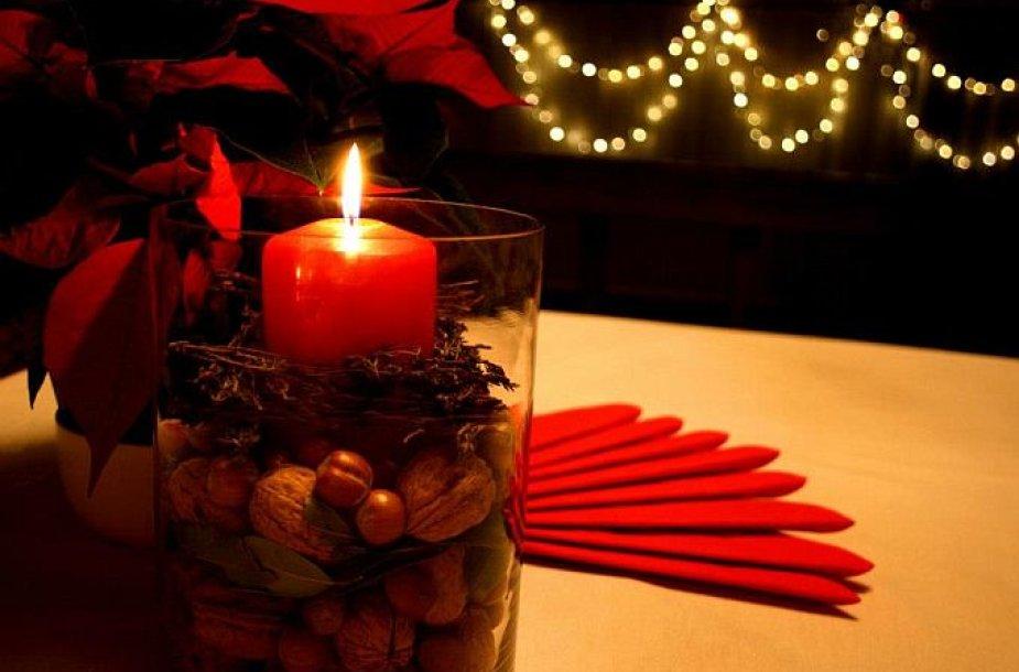 Žvakė vazoje