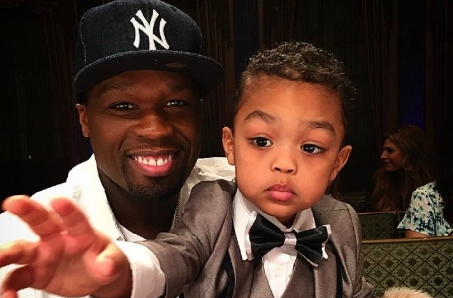 50 Cent su sūnumi Sire'u