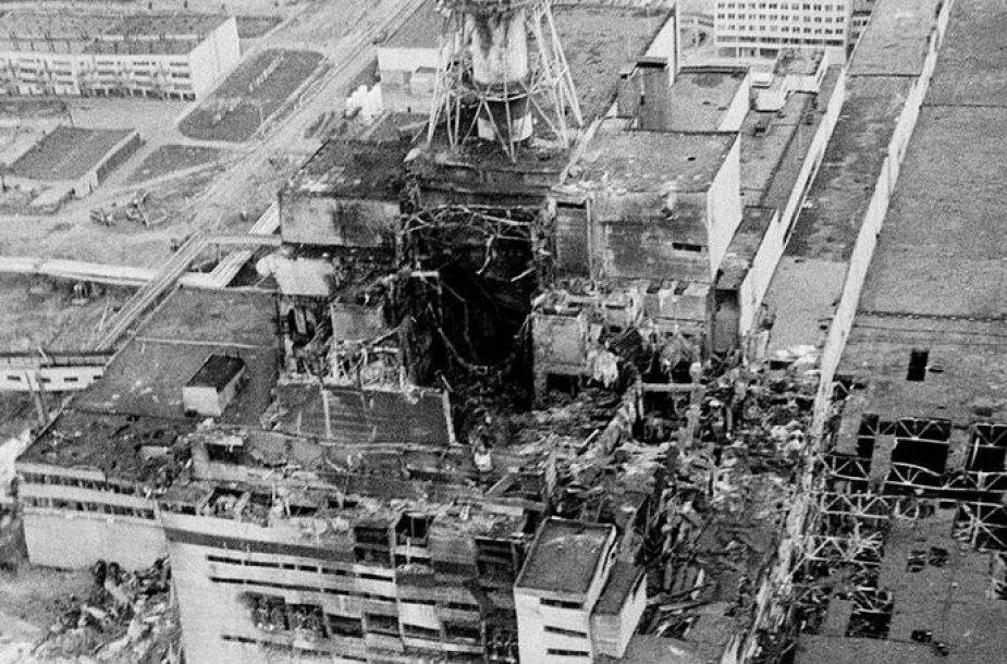 Černobylio atominė elektrinė (1986 m.)