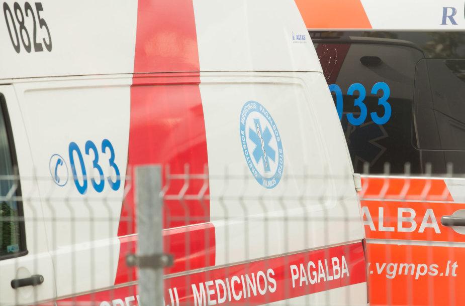 Vidaus reikalų ministras Eimutis Misiūnas lankėsi Vilniaus Greitosios medicinos pagalbos stotyje