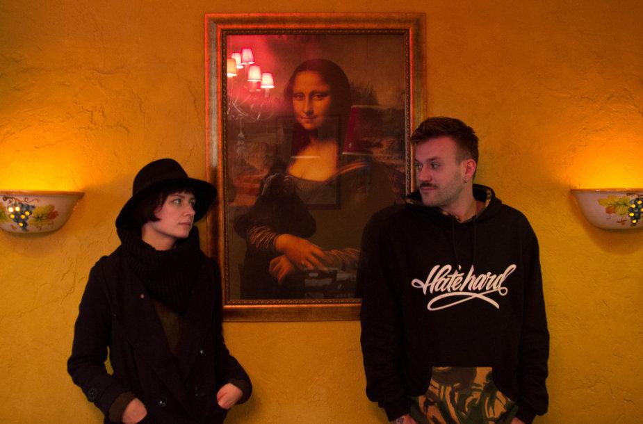Valerijus Gigevičius ir Justė Margarita