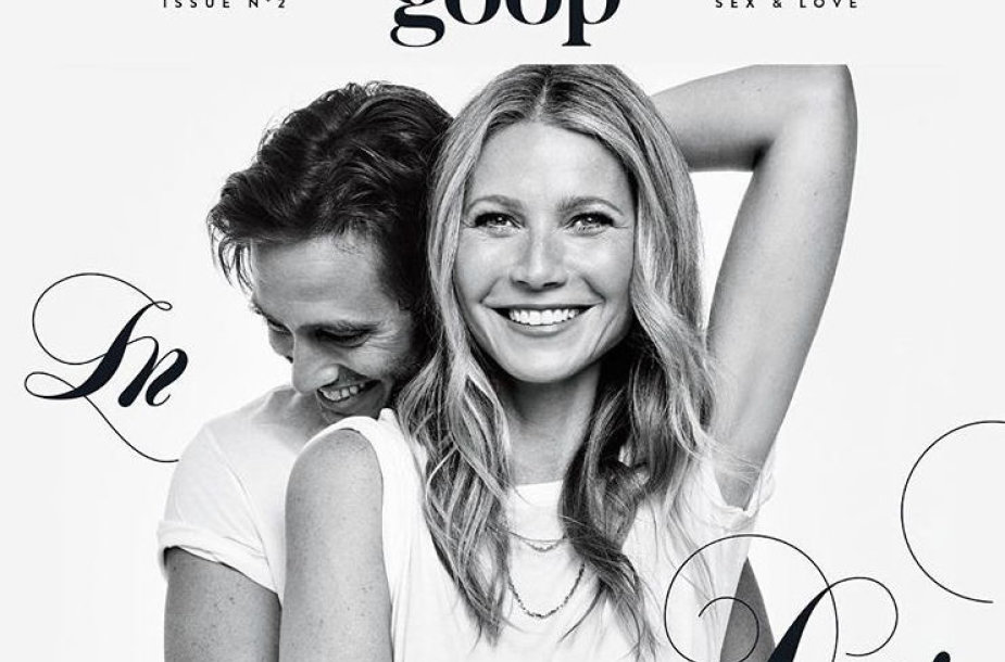 Gwyneth Paltrow ir Bradas Falchukas