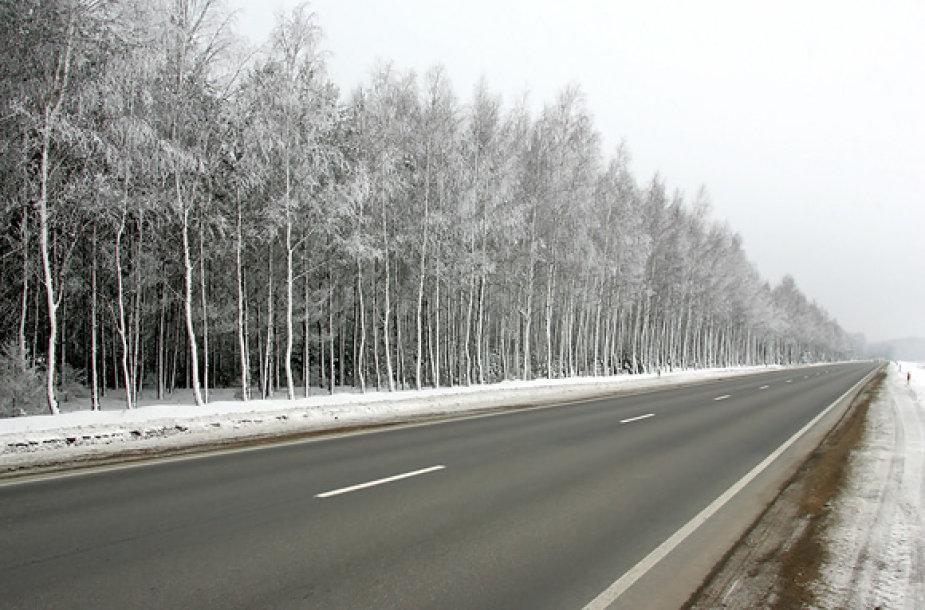 Jau nuo 22 valandos Lietuvos keliai pasidengs plikledžiu.