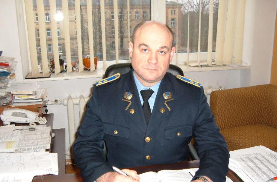 Mindaugas Volungevičius, Alytaus pataisos namų viršininko pavaduotojas