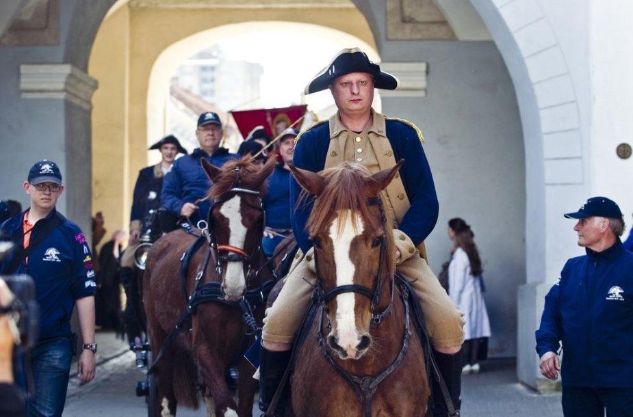 Napoleono žygio dalyvius pasitiko vilniečiai