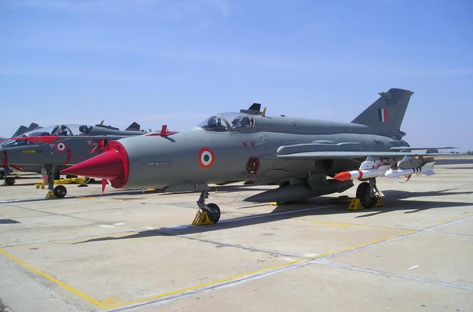 Indijos KOP naikintuvas Mig-21