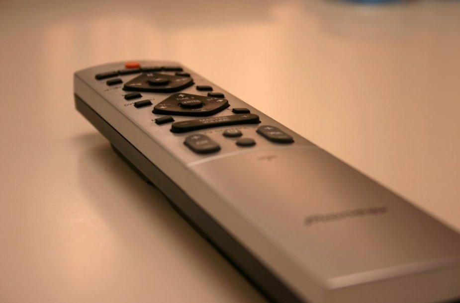 Televizoriaus nuotolinio valdymo pultelis