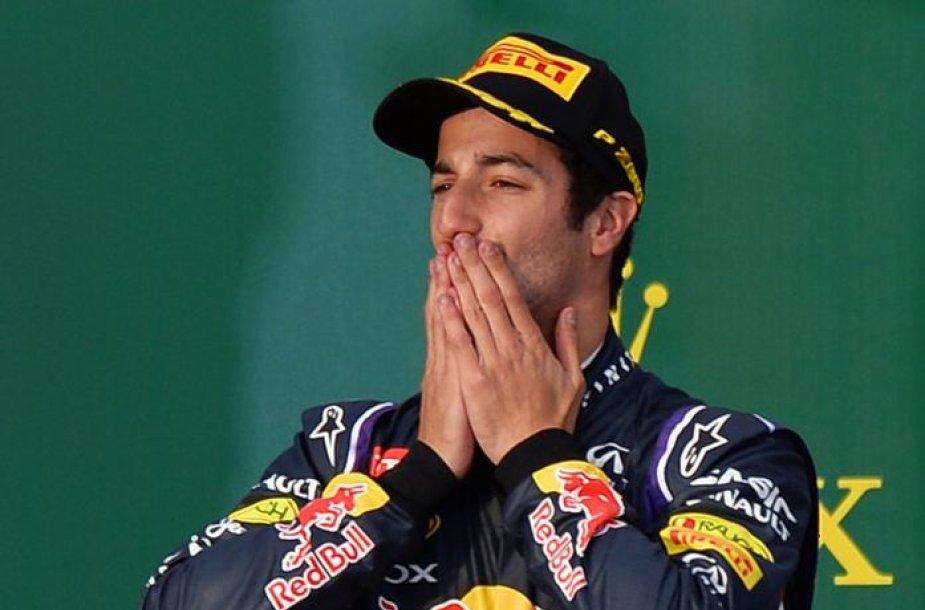 "Danielis Ricciardo, ""Red Bull"""
