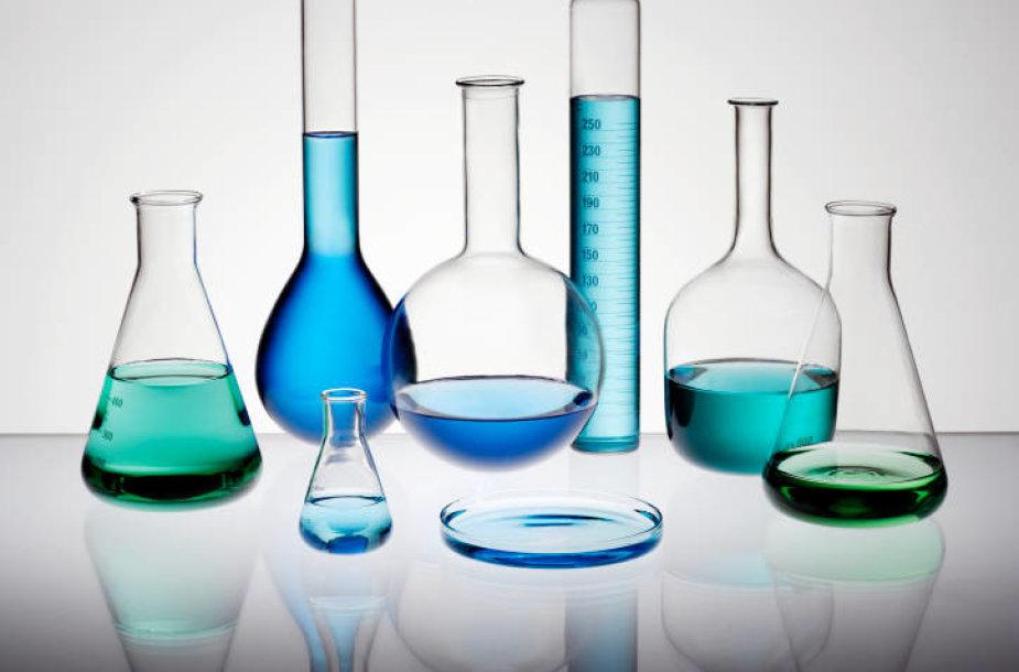Chemijos laboratorijoje