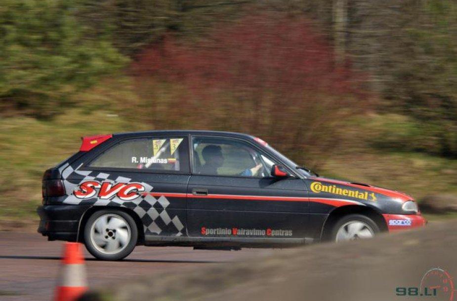 Lietuvos automobilių slalomo čempionato etapas Trakuose
