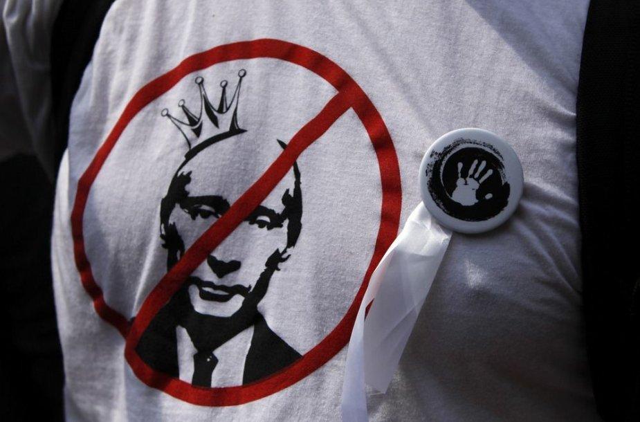 Protestuotojo marškinėliai