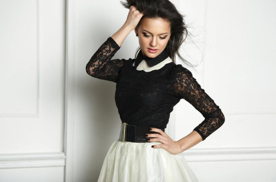 Pavasario tendencija – platėjantis sijonas
