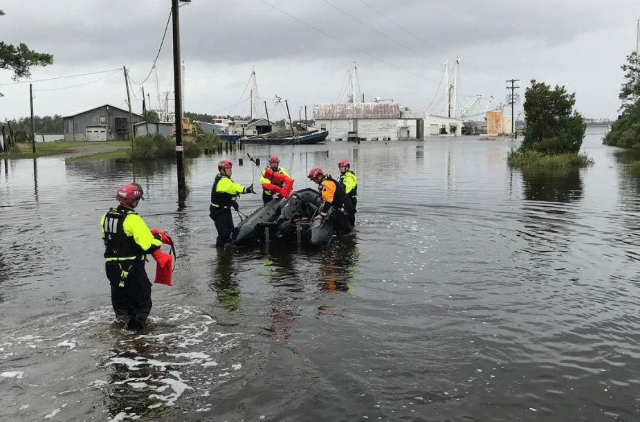 Audros Florence padariniai