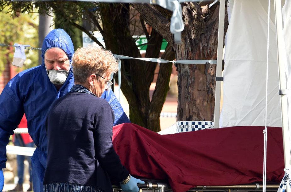 Australijos užmiesčio name aptikti penkių nužudytų žmonių palaikai