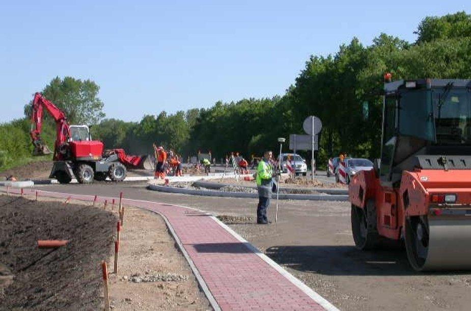 Kelio Nr. 130 Kaunas - Prienai - Alytus 30,76 km sankryžos rekonstravimas į žiedinę sankryžą