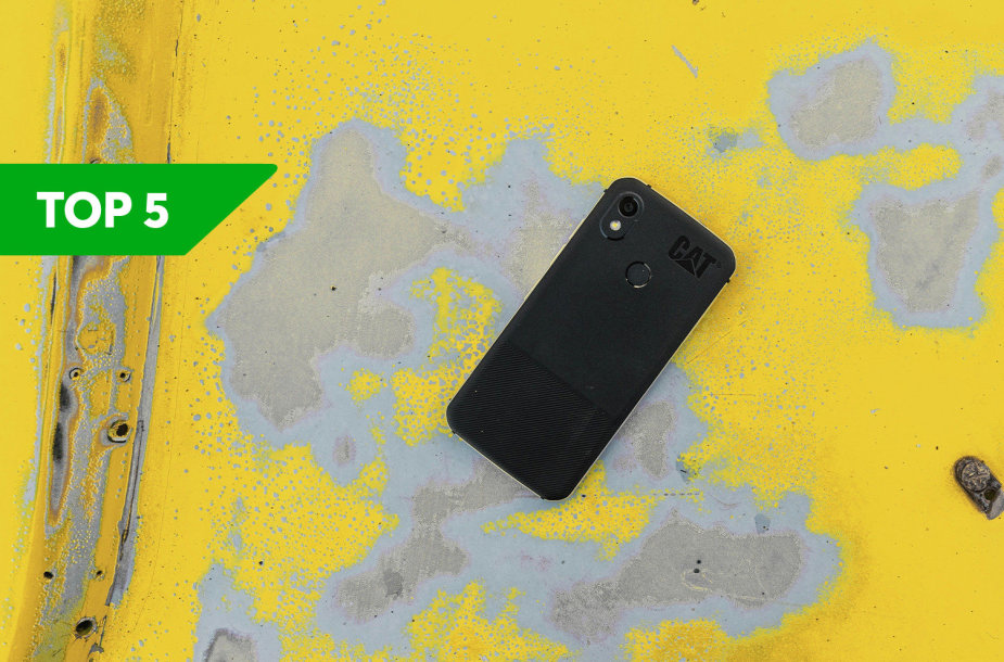 BITĖS Profai rekomenduoja: TOP 5 aplinkos veiksniams atsparūs telefonai