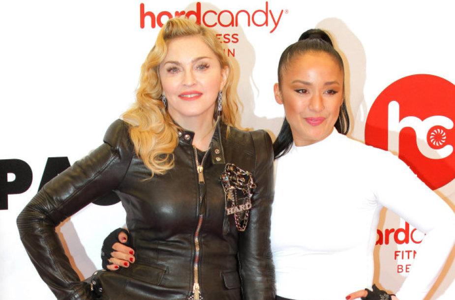Madonna ir Nicole Winhoffe