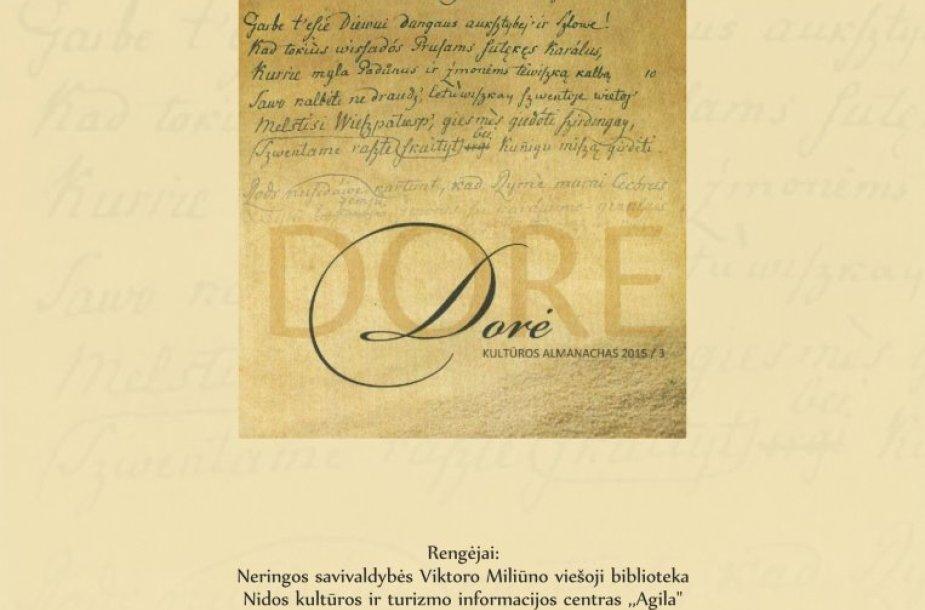 """Kuršių nerijoje išleistas naujas almanachas """"Dorė"""""""