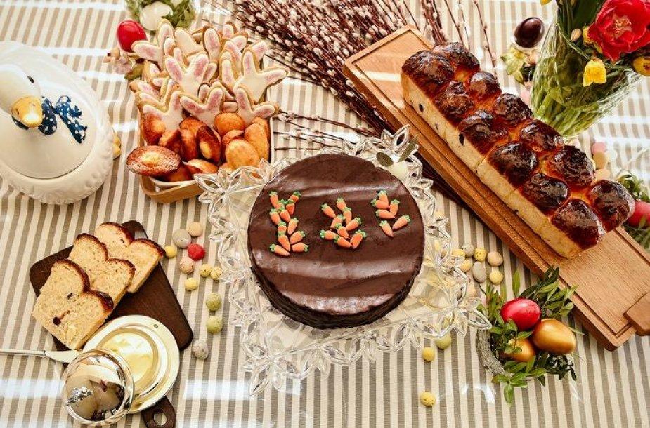 Saldus Velykų stalas pagal Kotryną Starkienę