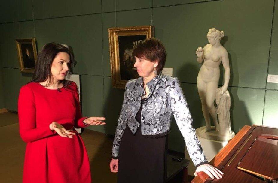 Kristina Rimienė ir Birutė Landsbergytė-Cechanavičienė
