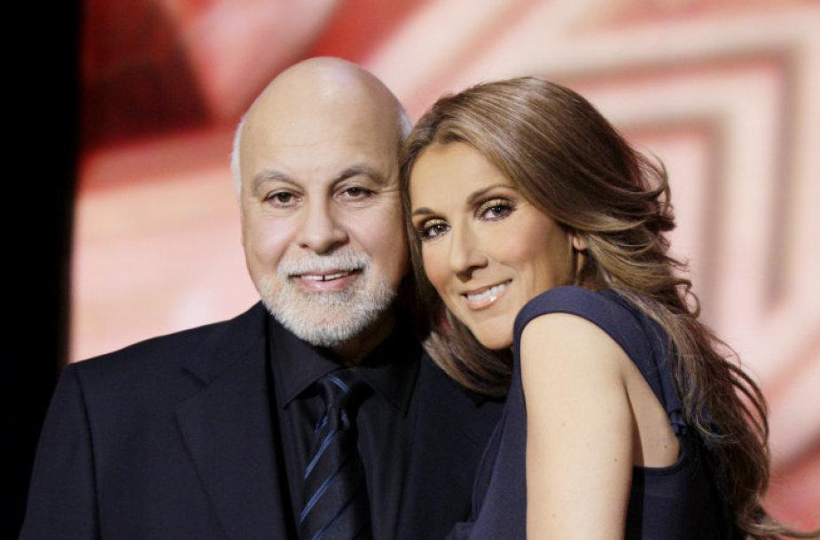 Celine Dion ir Rene Angelilis (2008 m.)