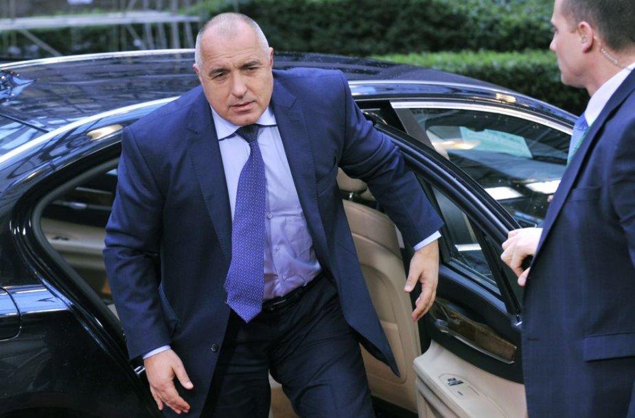 Bulgarijos premjeras Boiko Borisovas