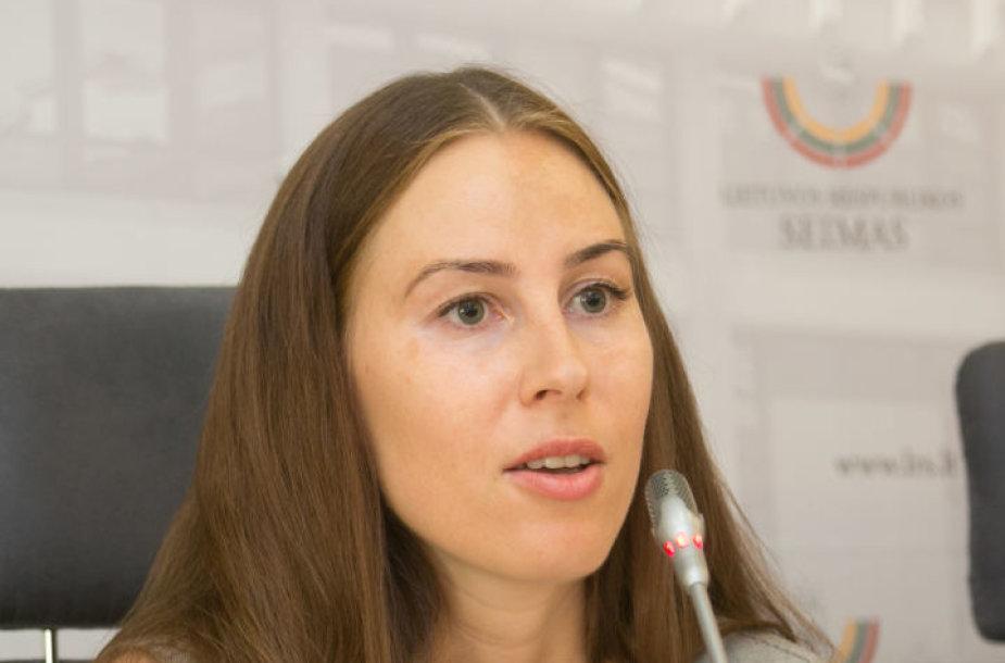 Lygių galimybių kontrolierė Agneta Lobačevskytė