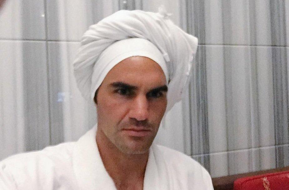 Rogerio Federerio twitter nuotrauka