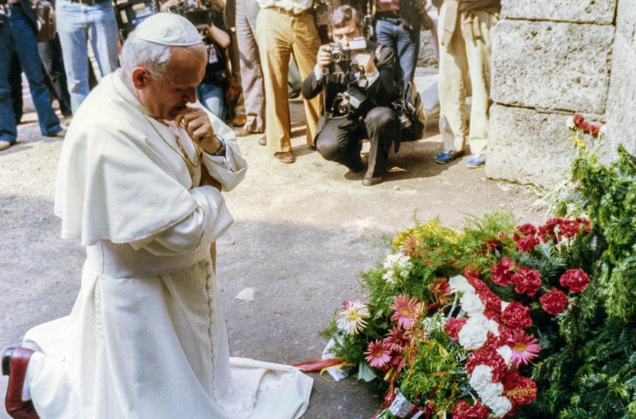 Jonas Paulius II 1979 metais vizito Lenkijoje metu
