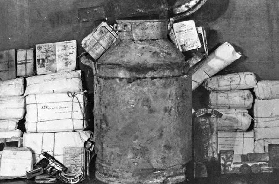 Į saugumo rankas patekęs vienas iš Juozo Paliūno-Ryto archyvų