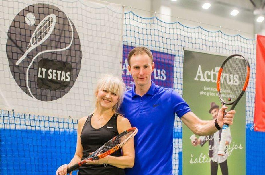 """Activus"" dvejetų teniso turnyras"