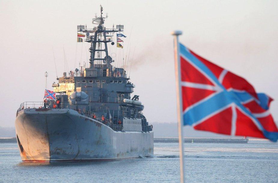 """Rusijos desantinis laivas """"Kaliningrad"""""""