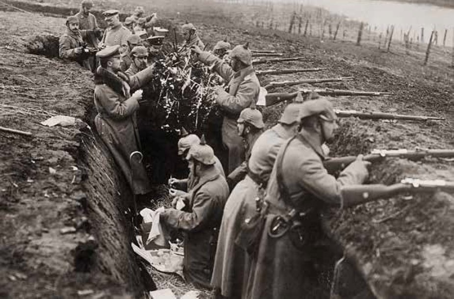 Vokiečių pajėgos Kalėdų fronte (1914)