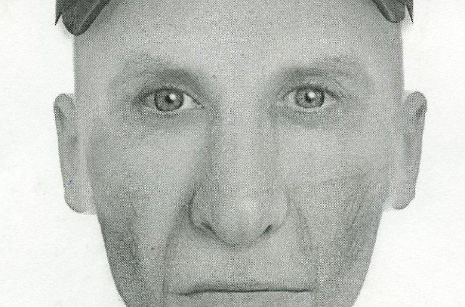 Sudarytas asmens, galimai įvykdžiusio plėšimą, kompozicinis portretas.