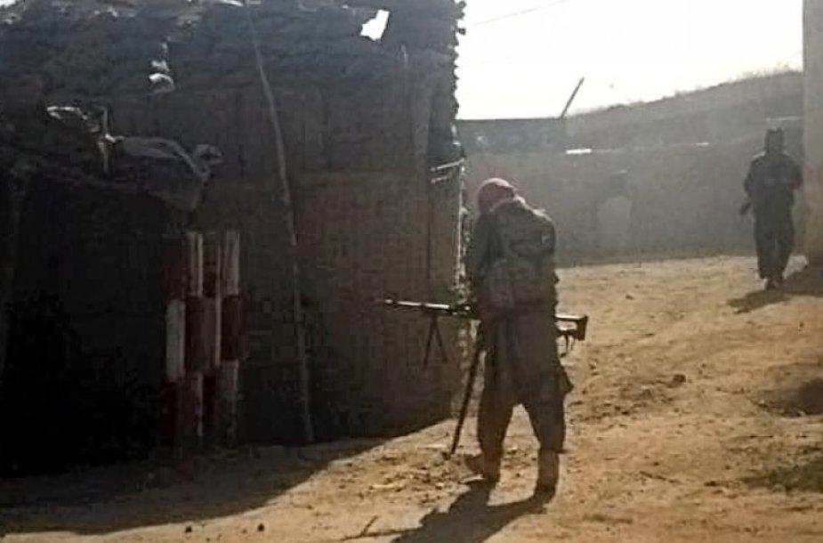 Talibano kovotojai Kundūze