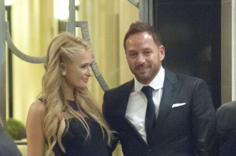 Paris Hilton ir Thomas Grossas