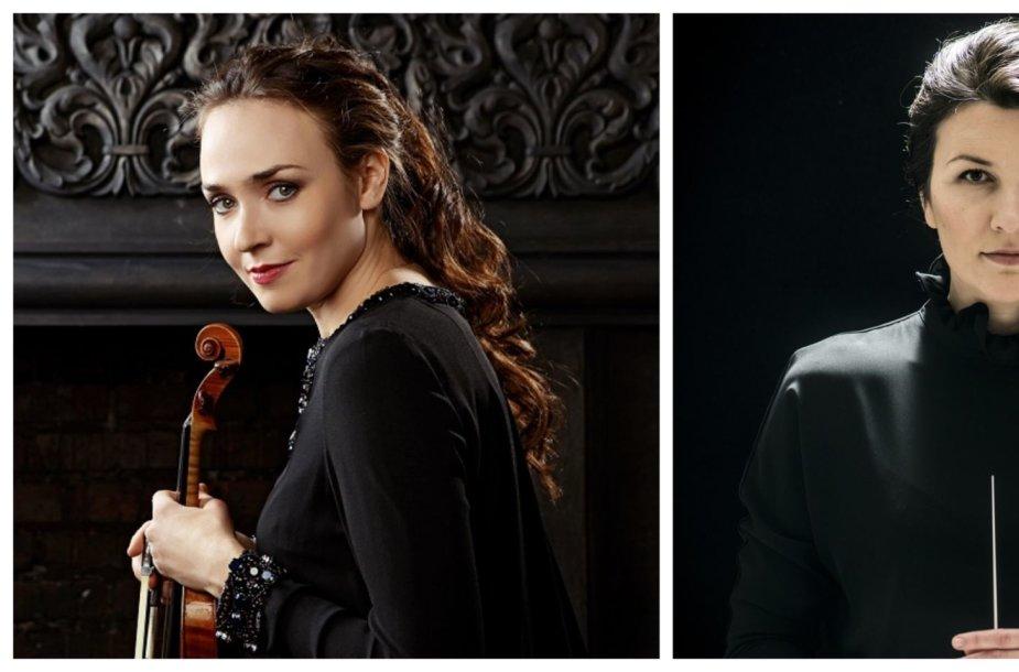 Ksenija Dubrovskaja ir AdrijaČepaitė