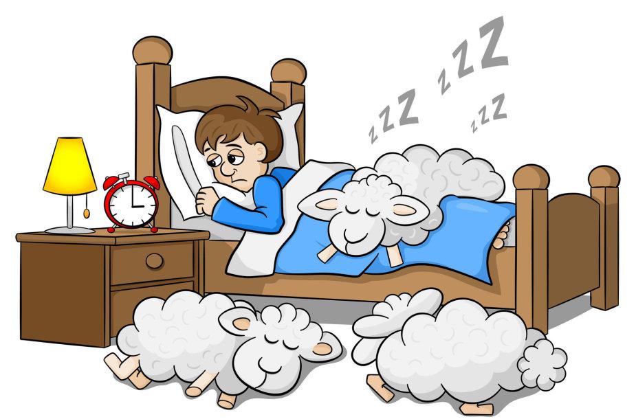Nemiga ir kiti miego sutrikimai kankina nemažą dalį žmonių