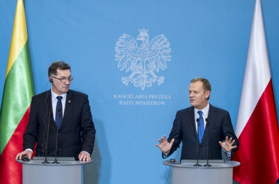 D.Tusko ir A.Butkevičiaus susitikimas