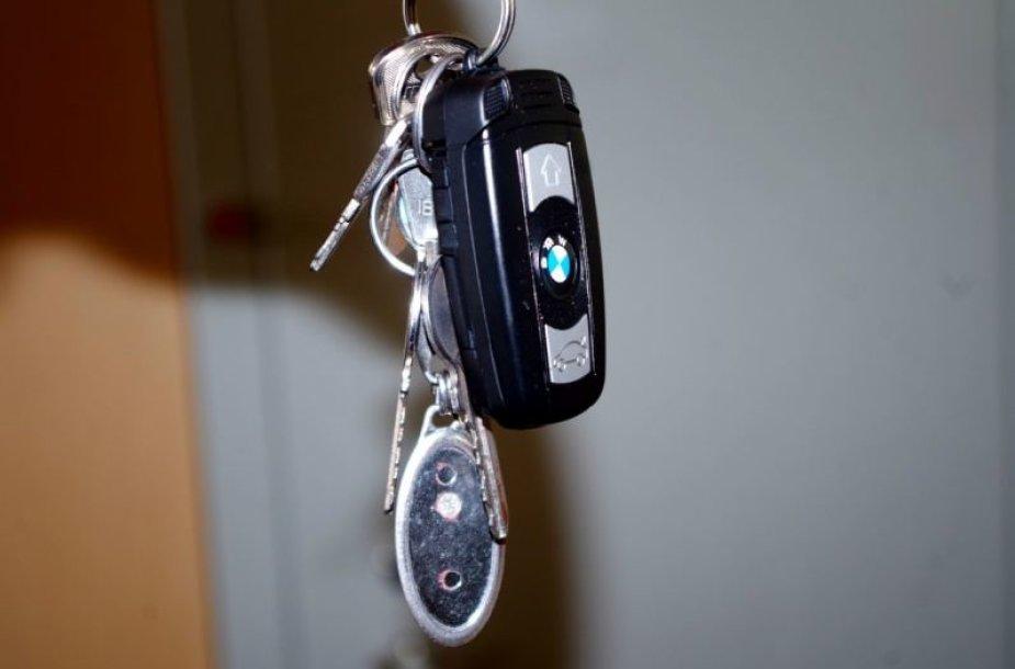 Konfiskuotas telefonas