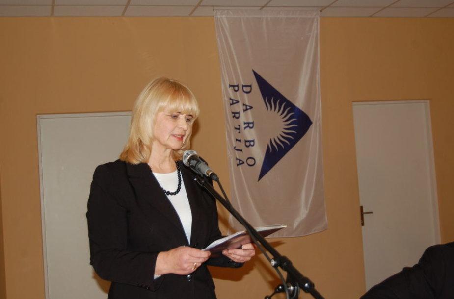 Kandidatė į švietimo ir mokslo viceministres Genoeva Krasauskienė