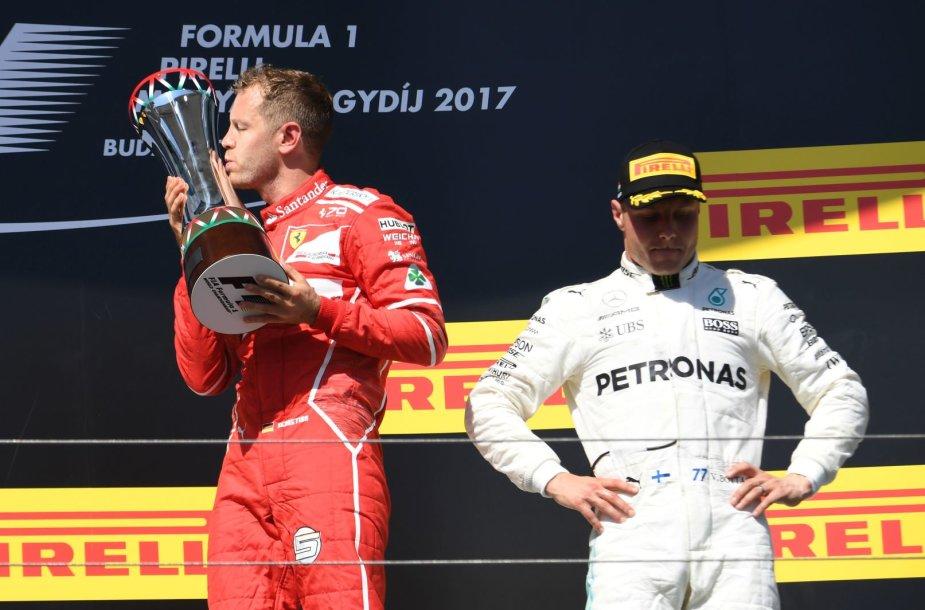 Formulės 1 Vengrijos GP , Sebastianas Vettelis